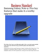 Samsung Galaxy Note 9: Five key features that make it a worthy upgrade