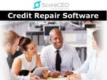 Credit Repair Software - Scoreceo.com