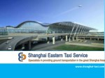 Book your taxi Pudong Airport to City in Shanghai