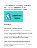 Enhance Your Career With StreamServe Training At TekSlate