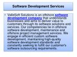 Software Development Services Company - Software Consulting Services Company