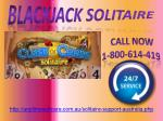 Blackjack Solitaire | 1-800-614-419 Flawless Solution