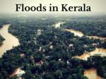 Floods in Kerala 2018