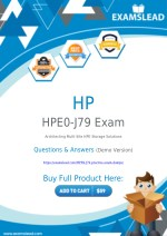 Authentic HPE0-J79 Exam Dumps - New HPE0-J79 Questions Answers PDF