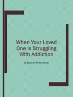 When Your Loved One Is Struggling With Addiction
