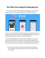 How Tinder clone changed the dating app trend - Appkodes