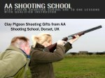 Clay Pigeon Shooting Gifts | Special Offers from AA Shooting School