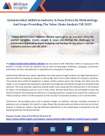 Antimicrobial Additives Market Growth Opportunities, Analysis And Forecasts Report To 2025