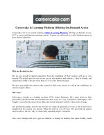 Careercake Is Learning Platform Offering On-Demand Access