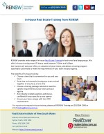 In-House Real Estate Training from REINSW