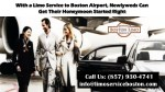 With a Limo Service to Boston Airport, Newlyweds Can Get Their Honeymoon Started Right