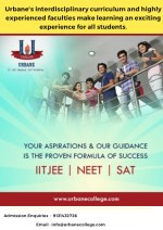 Urbane | Hyderabad's Top Intermediate Junior College | IIT - JEE, NEET & SAT Coaching