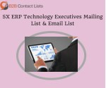 5X ERP Technology Executives Mailing Lists in USA