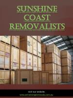 Sunshine Coast Removalists