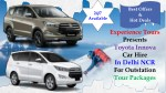 Book Innova for Outstation Trip from Delhi