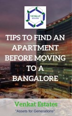 TIPS TO FIND AN APARTMENT BEFORE MOVING TO A BANGALORE | Apartments in KR Puram, Bangalore