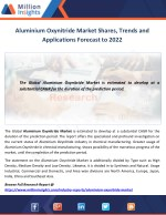 Aluminium Oxynitride Market Shares, Trends and Applications Forecast to 2022