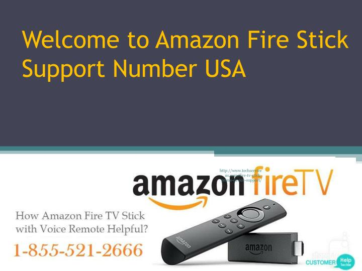 welcome to amazon fire stick support number usa n.