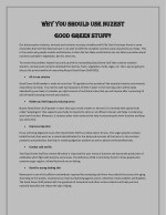 Nuzest Good Green Stuff | Combination of Nutrients & Vitamins