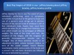 The Top 30 Catholic Artists of 2018 in usa - jeffrey bewley,about jeffrey bewley, jeffrey bewley profile