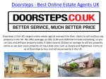 Best Online Estate Agents UK