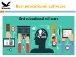 Best educational software