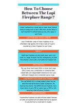 How To Choose Between The Lopi Fireplace Range?