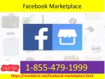You can now request to have a secure payment method on 1-855-479-1999 Facebook marketplace