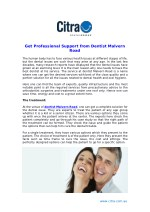 Get Professional Support from Dentist Malvern Road