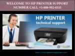HP printer support phone number | technical support