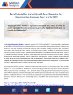 Facial Injectables Market Growth Rate, Dynamics, Key Opportunities, Company Overview By 2025