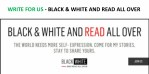 WRITE FOR US - BLACK & WHITE AND READ ALL OVER