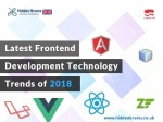 Latest Frontend Development Technology Trends of 2018
