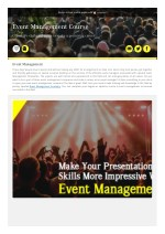 acting courses and event management courses