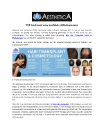Fue treatment now available at bhubaneswar