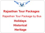 Enjoy Rajasthan Tour Package by Bus with ShubhTTC