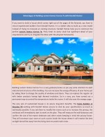 Advantages of Building custom homes Conroe Tx with Kendall Homes
