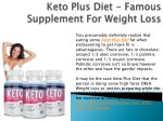 Keto Plus Diet - How It Work For Weight Losing