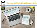 Responsive Website Design Company India