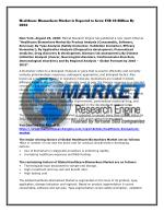 Healthcare Biomarkers Market is Expected to Grow US$ 56 Billion By 2022