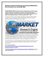 Healthcare Clinical Trial Management Systems (CTMS) Market Size is Projected to be Around By 2022