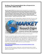 Healthcare Cloud Computing Market Size is Projected to be Around US$ 11 Billion By 2022