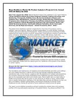 Home Healthcare Market By Product Analysis is Projected to be Around US$ 349 Billion By 2022