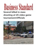 Several killed in mass shooting at US video game tournament