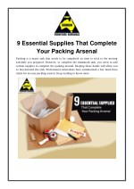 9 Essential Supplies That Complete Your Packing Arsenal