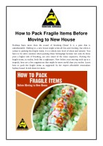 How to Pack Fragile Items Before Moving to New House
