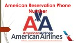 American Airlines Reservation Phone Number 1-888-764-8043