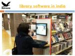 library software in india