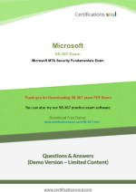 Microsoft 98-367 Microsoft Technology Associate Exam Questions And Answers