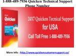 1-888-489-7936 Quicken Support Phone Number